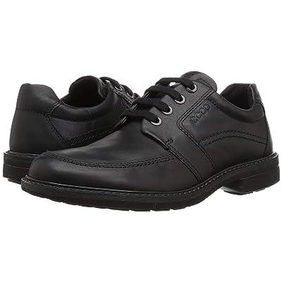 ECCO Turn Tie (Black Cow Leather) Men