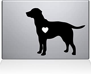The Decal Guru Labrador Retriever Love Silhouette Decal Vinyl Sticker, 13