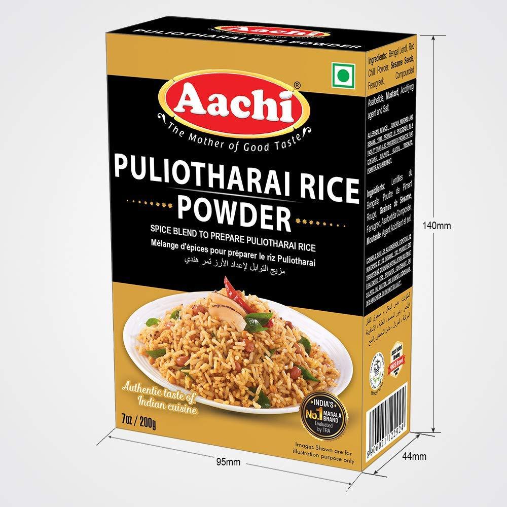 Aachi Puliyogre wholesale Rice 200g Cheap sale Powder