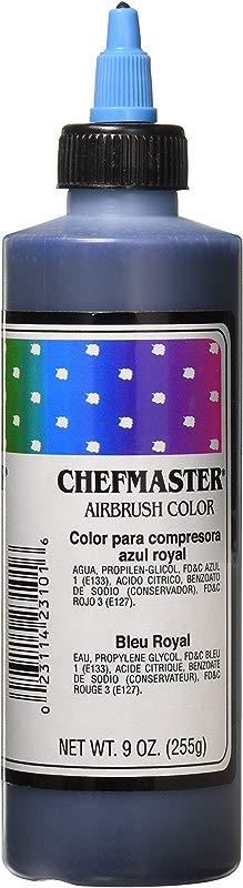 Chefmaster Airbrush Spray Food Color 9 Ounce Royal Blue