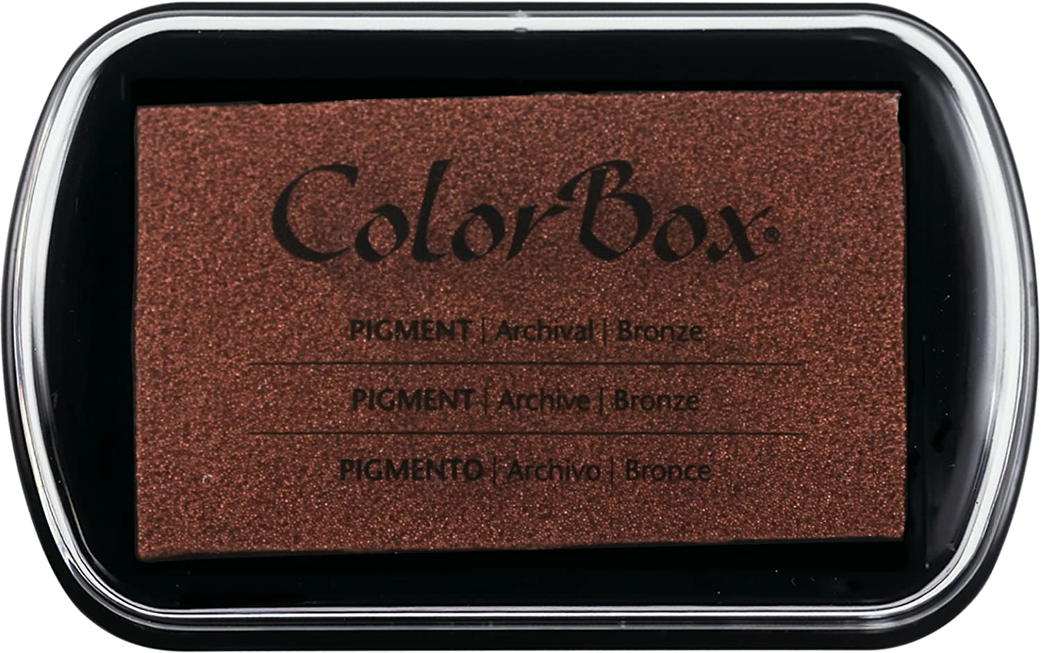Black Clearsnap 150000-15082 ColorBox Pigment Inkpad