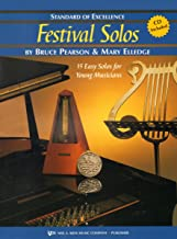 W37PA - Standard of Excellence - Festival Solos Book/CD Book 2 - Piano Accompaniment