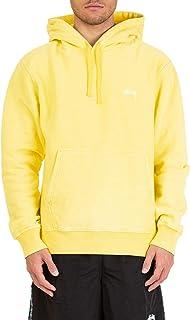 Luxury Fashion | Stussy Mens 118311115341 Yellow Sweatshirt | Spring Summer 19