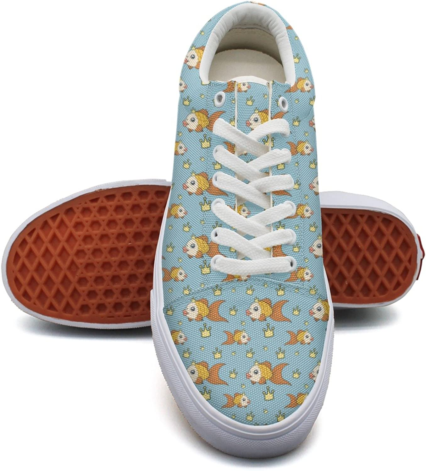 Fancy goldfish Woman's Casual Sneakers shoes Canvas Cool New Simple