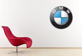 West Mountain Inc BMW Car Logo Wall Decal Sticker