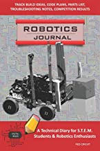 ROBOTICS JOURNAL - A Technical Diary for STEM Students & Robotics Enthusiasts: build ideas, code plans, parts list, troubleshooting notes, competition results, meeting minutes, RED CIRCUIT
