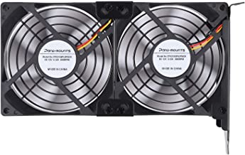 MANGKE Video Card Cooler Cooling Fan VGA PC Computer Heatsinks for NVIDIA ATI Geforce
