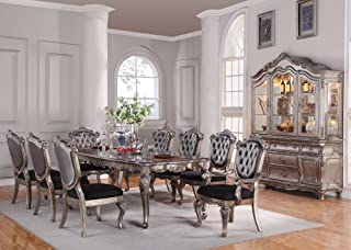 Inland Empire Furniture Chantelle 9 Piece Dining Set with Hutch/buffet