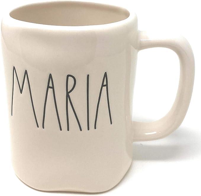 Rae Dunn MARIA name mug - ceramic