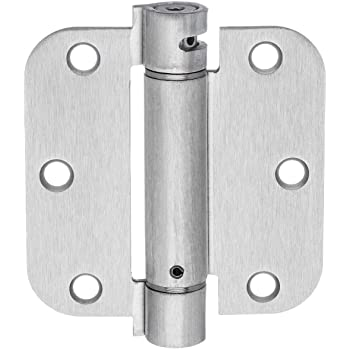 5//8 Radius Corner Hager Oil-Rubbed Bronze 3.5 Inch X 3.5 Inch Spring Door Hinges