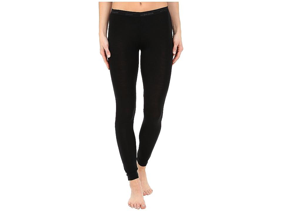 Icebreaker Everyday Light Weight Merino Legging (Black) Women