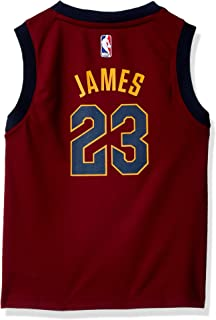 Outerstuff NBA Cleveland Cavaliers-James Kids Replica Player Jersey-Road, Medium(5-6), Burgundy