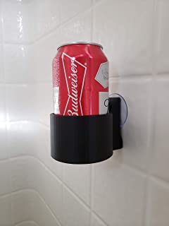 The ShowerBro! Suction Cup Beer Holder for the Bath or Shower