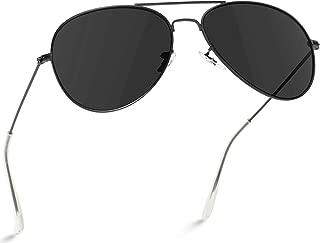 Polarized Metal Frame Pilot Style Aviator Sunglasses