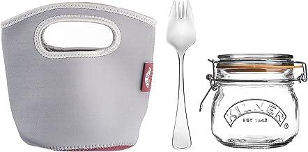 Kilner Make and Take Jar 3-Piece Set, 500 ml Capacity