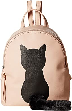 Plush Tail Cat Backpack