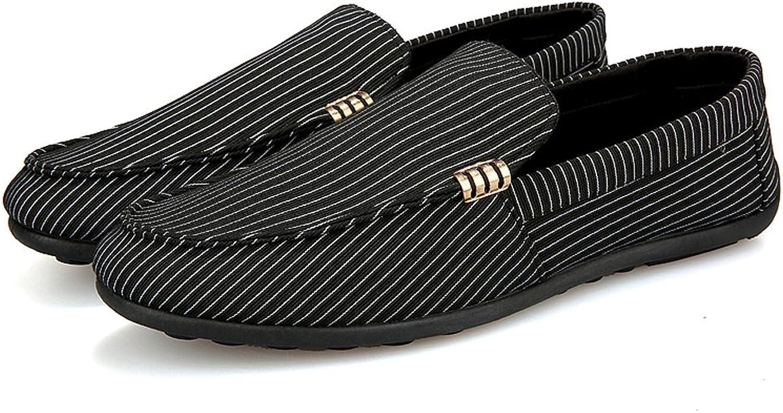 LI SHI XIANG SHOP Männer alte alte alte Peking Schuhe Segeltuchschuhe Fallen beiläufige Gezeitenschuhe (Farbe   Schwarz, größe   US 7.5\UK 6.5\EUR 40)  5b098a