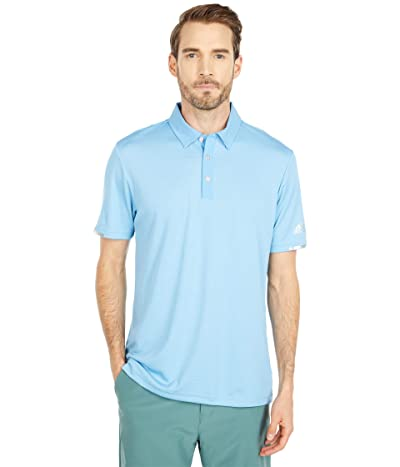 adidas Golf Heat.Rdy Base Polo Shirt (Team Light Blue Melange) Men