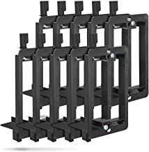 Low Voltage Mounting Bracket (1 Gang, 10 Pack), Fosmon Low Voltage Mounting Bracket (Mounting Screws Included) for Telepho...