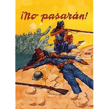 World of Art - Lámina de cartel de propaganda de la Guerra Civil ...