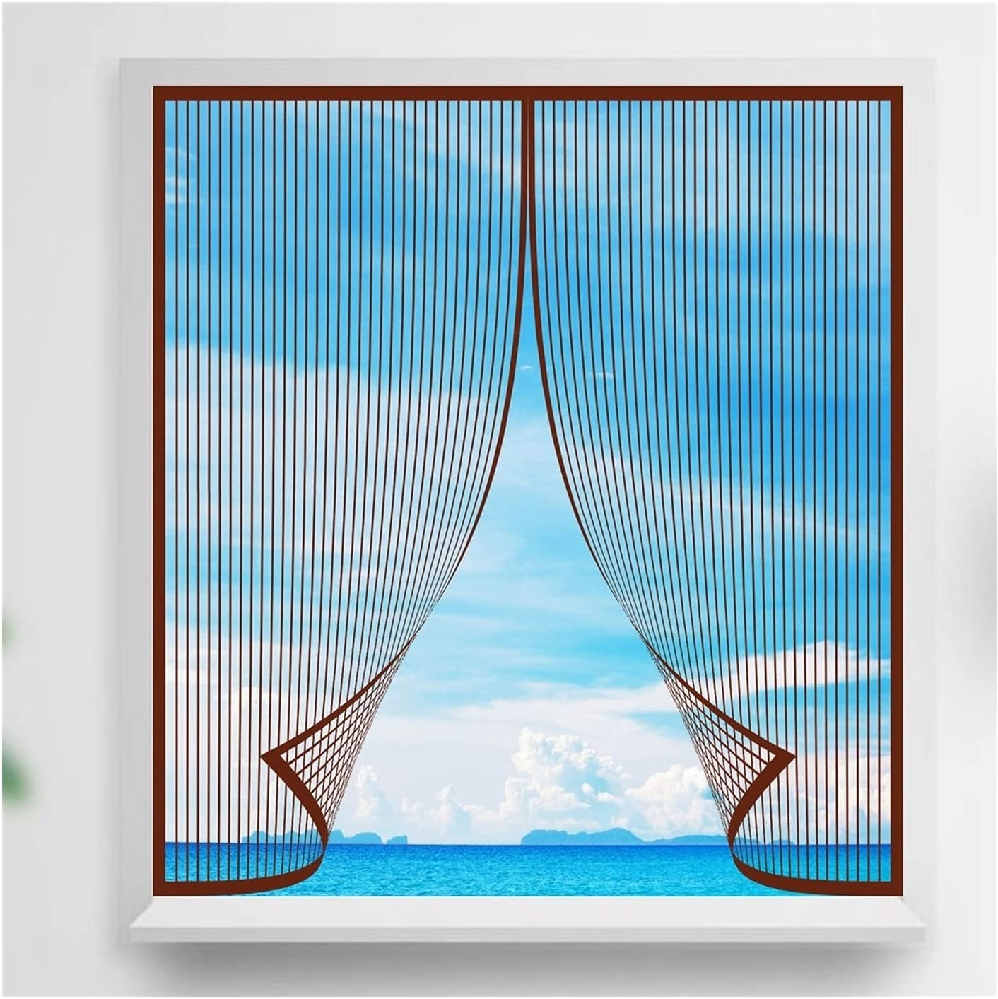 KOUDU Fly Screen Mosquito 2021new shipping free shipping Net Super Mesh Strong Lets 25% OFF 75x75cm
