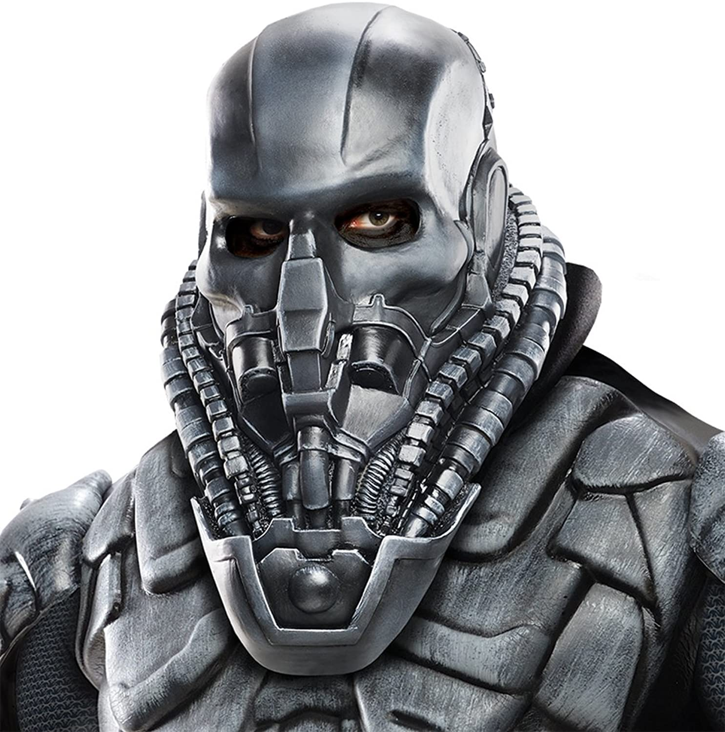 Man Of Steel Costume Accessory, Mens Superman General Zod Full Mask
