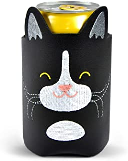 Fred and Friends BEV BUDDY DRINK SLEEVE, CAT, Tuxedo