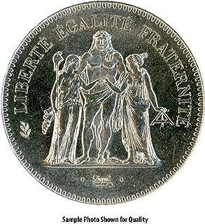 france 50 franc coin