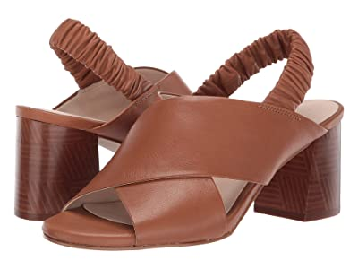 Cole Haan 65 mm Anastasia City Sandal (CH British Tan Tumbled Leather) Women