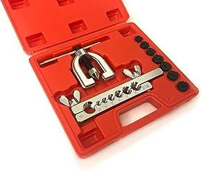 Abocardador para tubos de frenos de cobre rígidos con maletín moldeado, 10 piezas