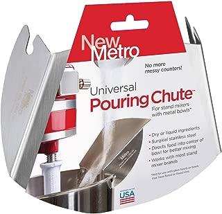 New Metro Design PC-10 New Metro Chute Stand Mixer Pour Shield, Silver