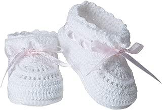 Jefferies Socks Baby Hand Crochet Bootie
