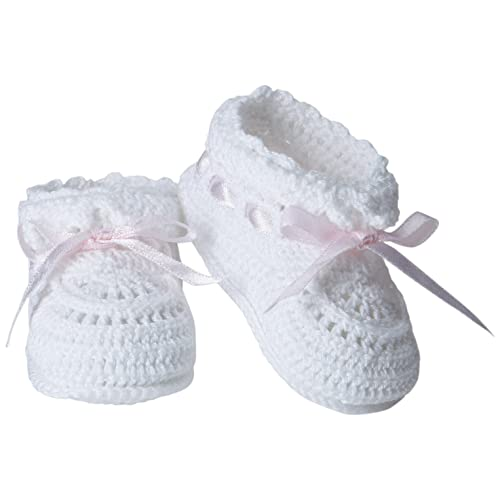 ef9b249c327a Jefferies Socks Baby Girls  Hand Crochet Bootie