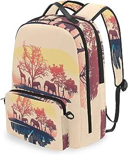 Mochila con bolsa cruzada desmontable, Nature City Computer Mochilas Bolsa de libro para viajes, senderismo, acampada