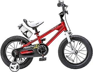 دراجة فري ستايل للاطفال للفتيان والفتيات من رويال بيبي، 12 14 16 انش مع عجلات تدريبية، 16 18 20 مع مسند، بالوان متعددة