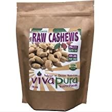 product image for Vivapura, Raw, Organic, Cashews,16 oz, Compostable Bag