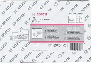 Bosch Professional 2608200040 Nagel Ronde Kop Nagel 21°, Thermisch Verzinkt, Gering; Sn21Rk 75Rhg