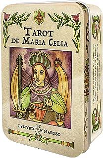 タロット・マリア・セリアカード(缶入り) 日本語解説書付き Tarot de Maria Celia