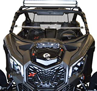 Can Am Maverick X3 Windshield - Full FoldingScratch Resistant SxS UTV Windshield. The Ultimate in Side By Side Versatility! Easy On or Off!Premium polycarbonate w/Hard CoatMade in America!