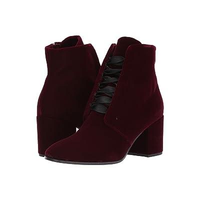 Kennel & Schmenger Ruby Lace Front Boot (Bordo Velvet) Women