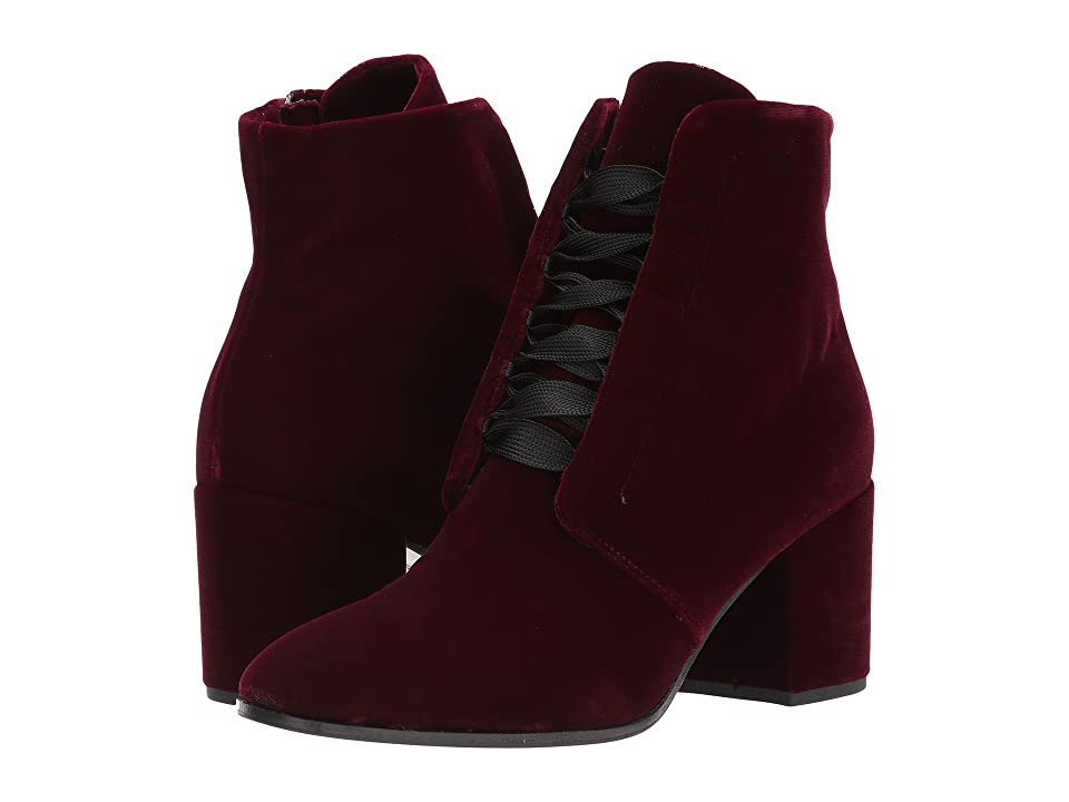 Kennel & Schmenger Ruby Lace Front Boot (Bordo Velvet) Women