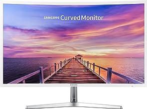 "Samsung Curved Monitor, 31.5"" LED Full HD (1920 x 1080) Display, 4ms Response Time, FreeSync Technology, Eco Saving Plus E..."