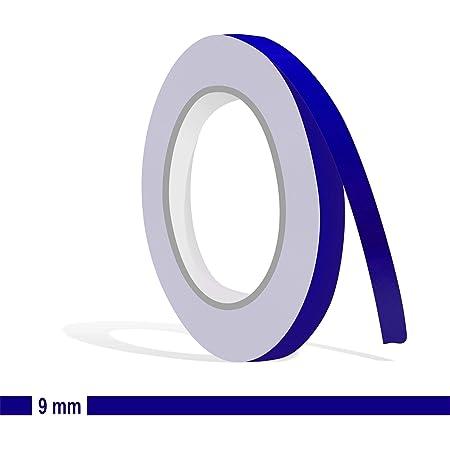 Siviwonder Zierstreifen Royalblau In 7 Mm Breite Und 10 M Länge Folie Aufkleber Für Auto Boot Jetski Modellbau Klebeband Dekorstreifen Königsblau Royal Blau Auto