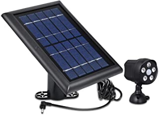 Outdoor Motion Battery Spotlight and Solar Panel Compatible with Ring Spotlight Cam Battery and Ring Stick Up Cam Battery...