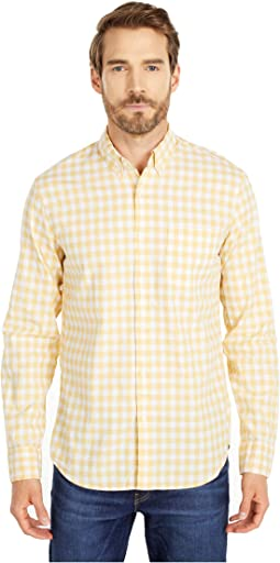 Van Buren Gingham Yellow/White