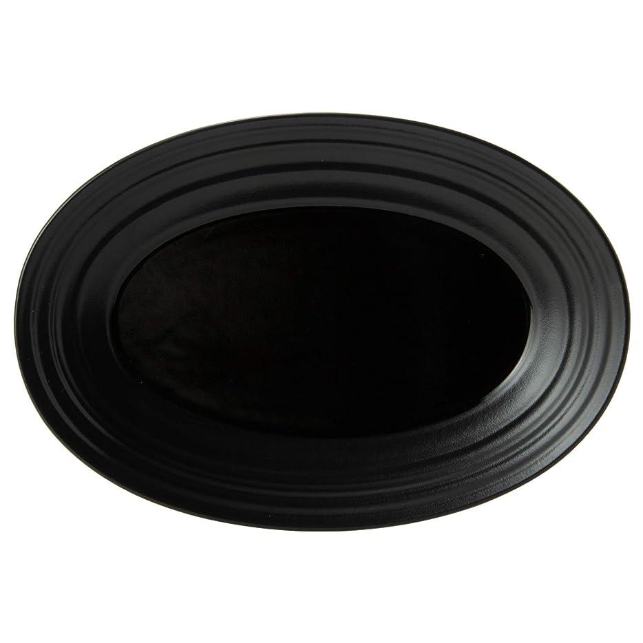 刈り取る考えるトライアスリートMIKASA プレート スワール ブラック 直径22×奥行15.4×高さ2.6cm 電子レンジ?食洗機?オーブン対応 T-772157