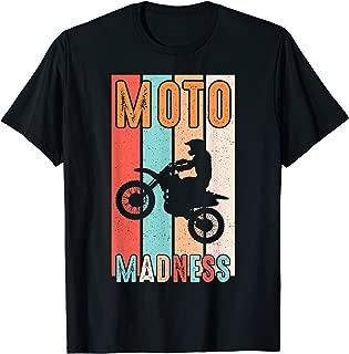 Moto Madness Dad Shirt T-Shirt And Motocross Grandpa