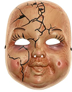 doll face halloween mask