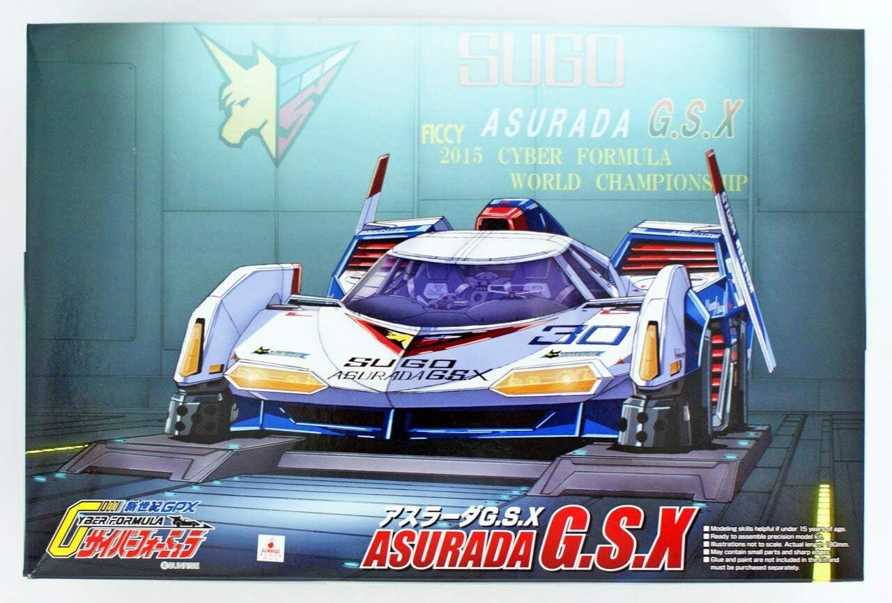 Aoshima 1 24 Scale Cyber shipfree Formula - Mo Sugo Plastic G.S.X Boston Mall Asurada