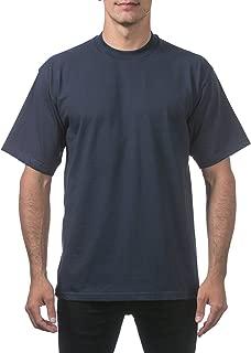 Men's Heavyweight Cotton Short Sleeve Crew Neck T-Shirt